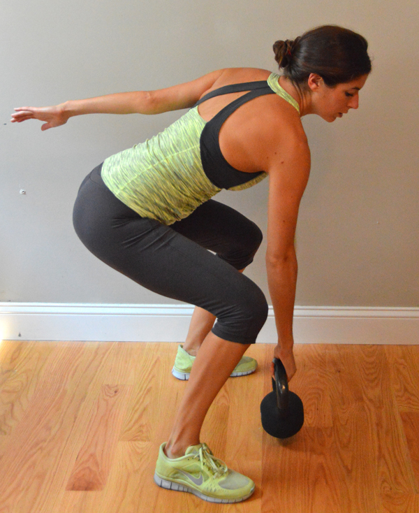 Upper-Body Kettlebell Interval Workout