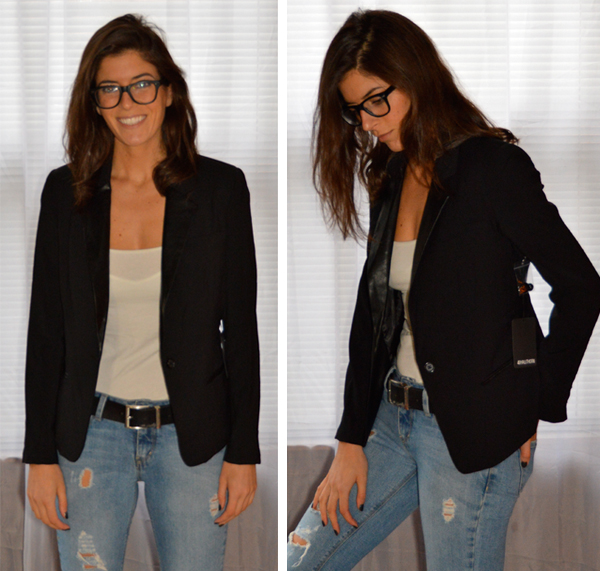 black blazer from Stitch Fix
