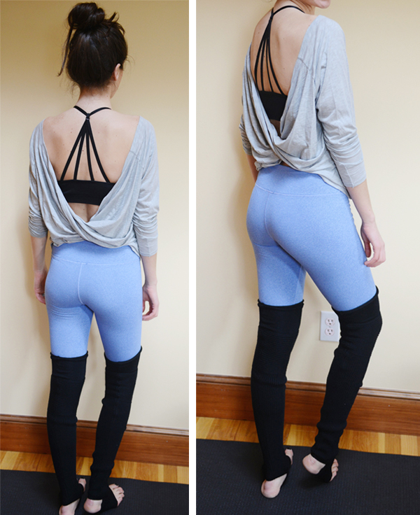 workout outfit-- fabletics, lululemon, cory vines