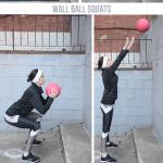 Medicine Ball Wall Workout