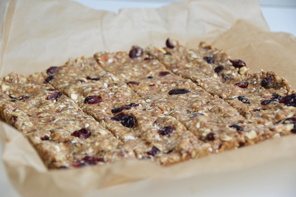 No-Bake Chewy Protein Granola Bars