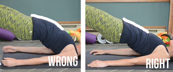 Hip Bridge Exercise - tips for proper form