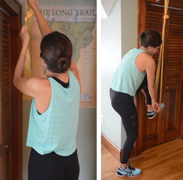 How to Modify Pull Ups with a Resistance Band