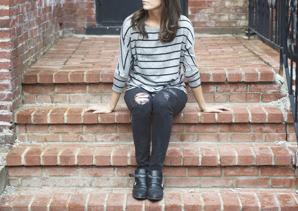 Market & Spruce Corinna Striped Dolman Top from Stitch Fix