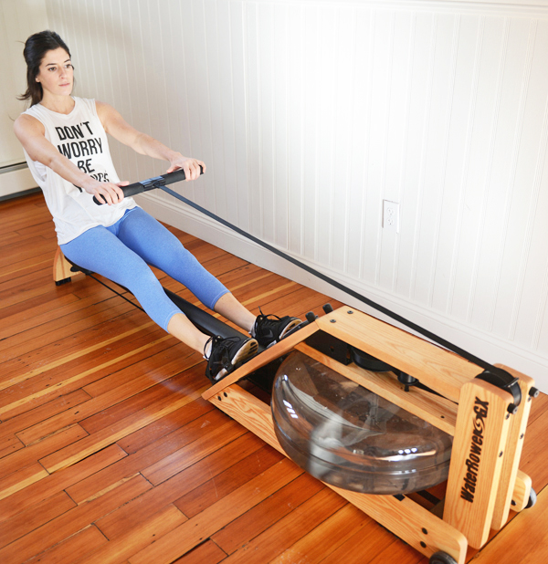 Core + Cardio Circuit Workout with the Rowing Machine