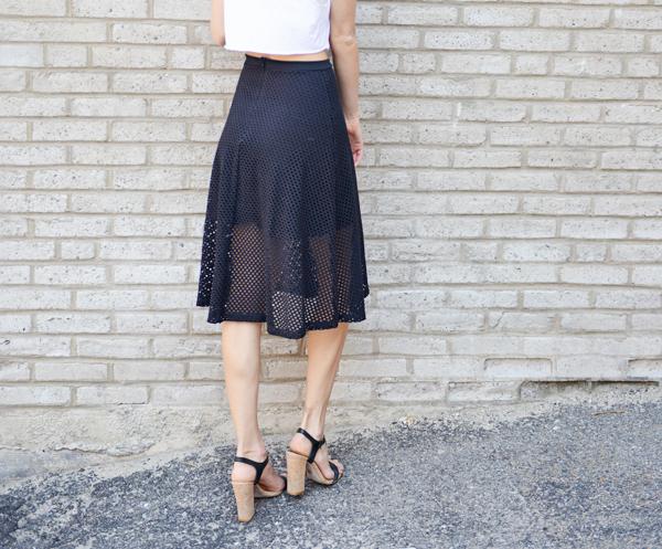 Stitch Fix Review - Alessia Skirt
