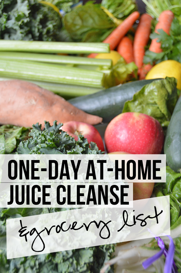 One day at home green juice reset grocery list pumps iron one day green juice cleanse you can do at home grocery list recipes solutioingenieria Choice Image