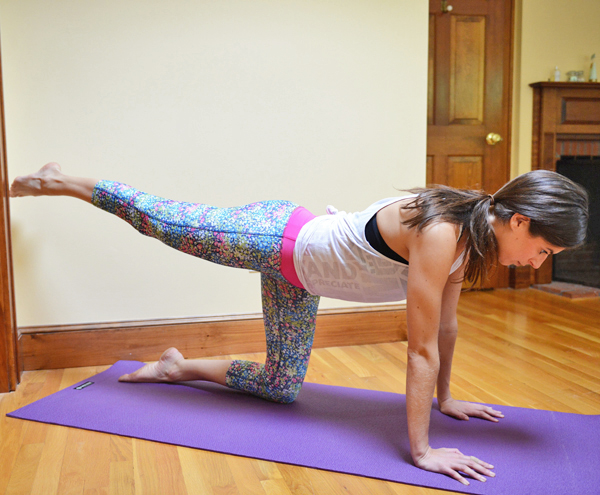 20-Minute At-Home Booty Workout (no equipment required!)