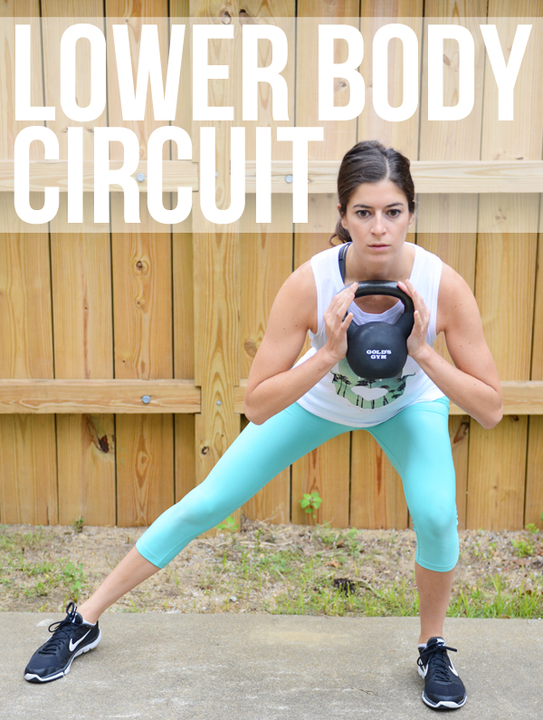 Legs & Butt Stacked Circuit Workout - this one takes just 13 minutes and you'll add on an exercise each round