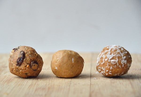 Customizable Nut Butter Protein Balls (you pick your favorite flavors!)