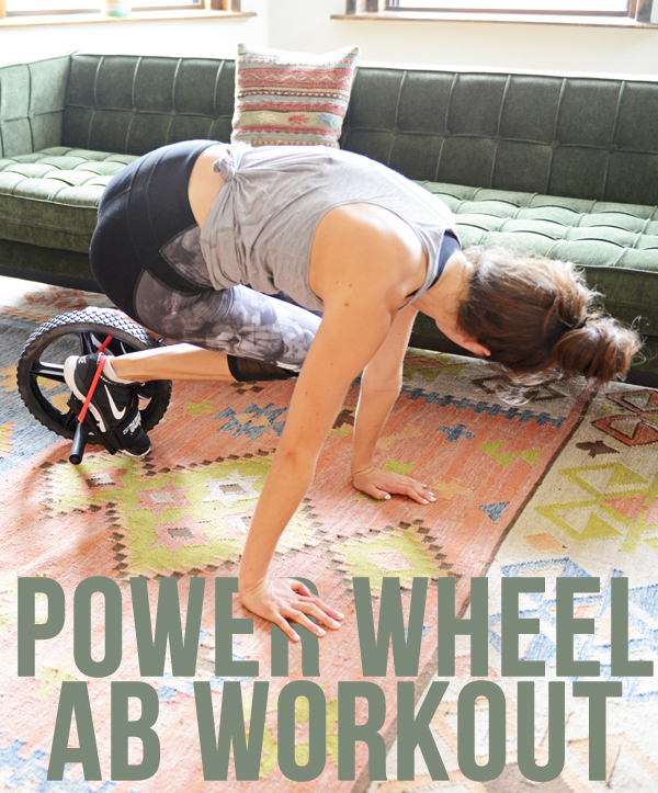 Power Wheel Ab Workout