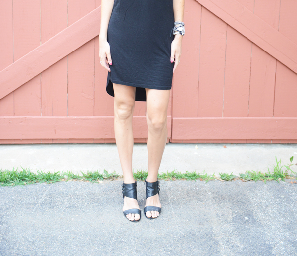 Stitch Fix Review - Sweet Grey Zachary T-Shirt Dress