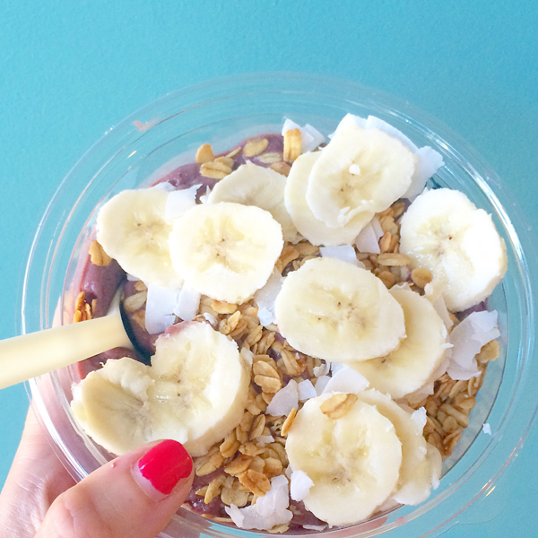 Acai Bowl from Blissed Out on Martha's Vineyard
