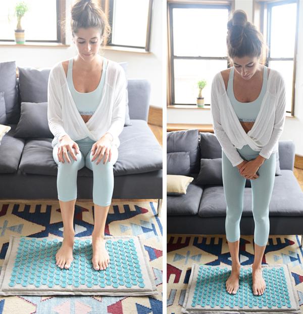 4 Self-Massage Tools I Love - acupressure mat for feet