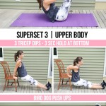 30-Minute At-Home Bodyweight Superset Workout