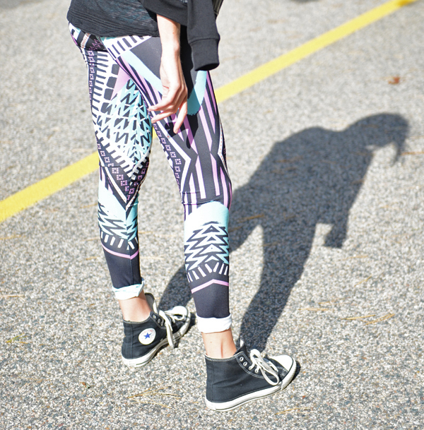 She's a Warrior MINKPINK leggings via Shopbop