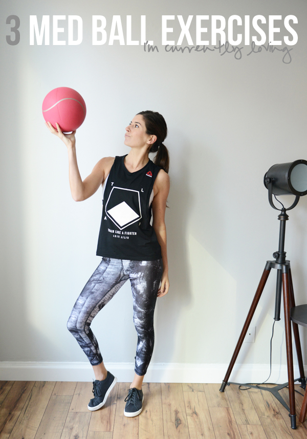 3 medicine ball (or dumbbell) exercises to add to your next workout