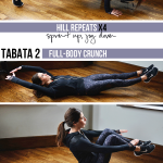 Hill Pyramid Workout with Strength Training Tabatas