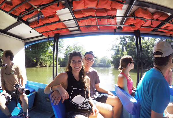 Sarapiqui River Boat Tour, Costa Rica