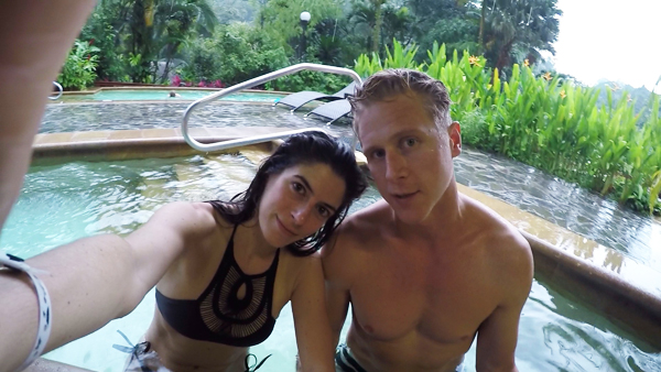 Tabacon Grand Spa Thermal Springs in Arenal, Costa Rica