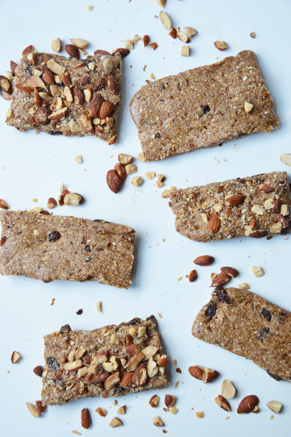 Oatmeal Raisin Energy Bars