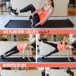 20-Minute Weighted Core Workout