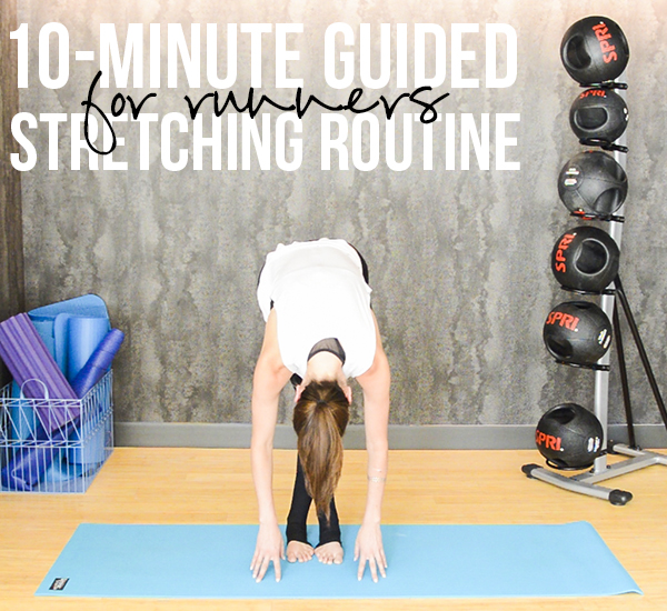 10-Minute Guided Stretching Routine for Runners (or anyone with tight hips!) -- video included