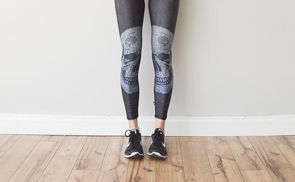 Terez skull leggings -- get 25% off with code nicole25