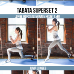 12-Minute Bodyweight Tabata Workout: Lower Body (Butt & Legs)