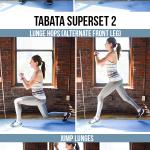12 minute bodyweight tabata legs butt workout 150x150 - 12-Minute Bodyweight Tabata Superset Workout: Lower Body