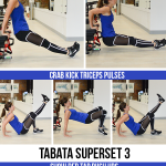 12-Minute Bodyweight Tabata Workout: Upper Body (Arms, Chest, Core)