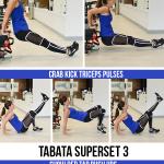 tabata bodyweight workout upper body 150x150 - 12-Minute Bodyweight Tabata Superset Workout: Lower Body