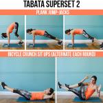 12-Minute Bodyweight Core Tabata Workout