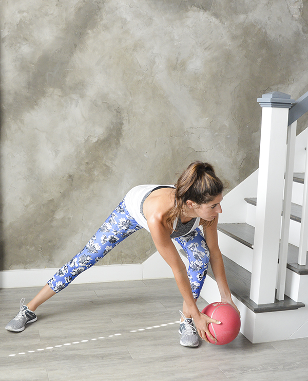 Standing Core Workout - this 20-minute workout will challenge your core stability with standing ab exercises