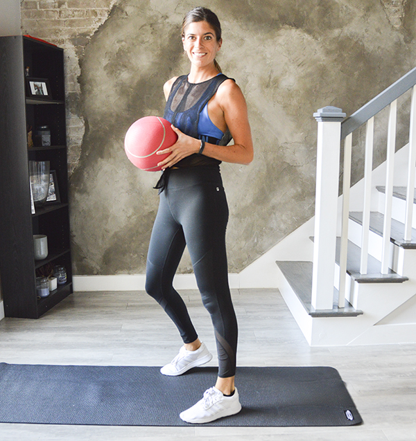 Stability Ball Upper Body Workout: 10 Or 20-Minute Med Ball Full-Body Circuit Workout