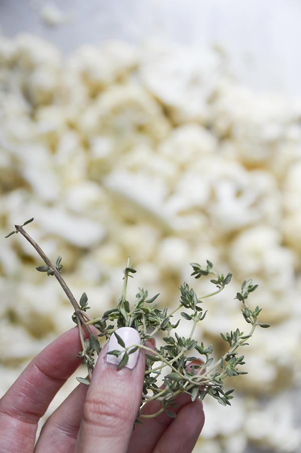 Roasted Parmesan Cauliflower
