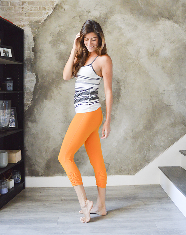 thredUP activewear outfit - Lululemon & Beyond Yoga at a huge discount