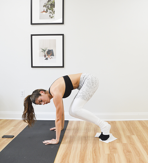4-Minute Plank Tabata Challenge (Day 4): Slider Exercises