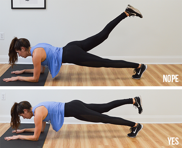 4-Minute Plank Tabata Challenge (Day 5): Full-Body   Pumps & Iron