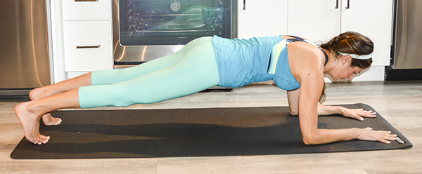4-Min Plank Tabata Challenge (Day 3) - Forearm & High Plank Exercises