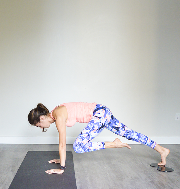 4-Minute Plank Tabata Challenge (Day 7): Slider Exercises