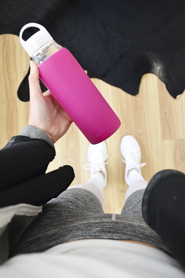 Daniel Glass water bottle giveaway - glass & bpa-free