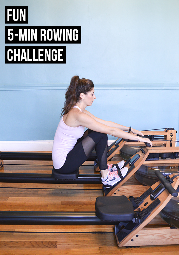 Fun 5-Minute Rowing Challenge