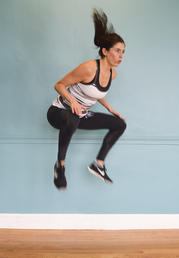 This 10-minute bodyweight cardio workout is quick but INTENSE.
