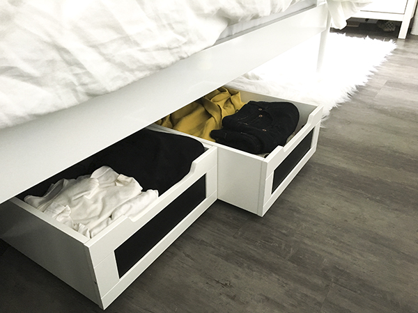 My Favorite Things - Under Bed Rolling Storage Containers