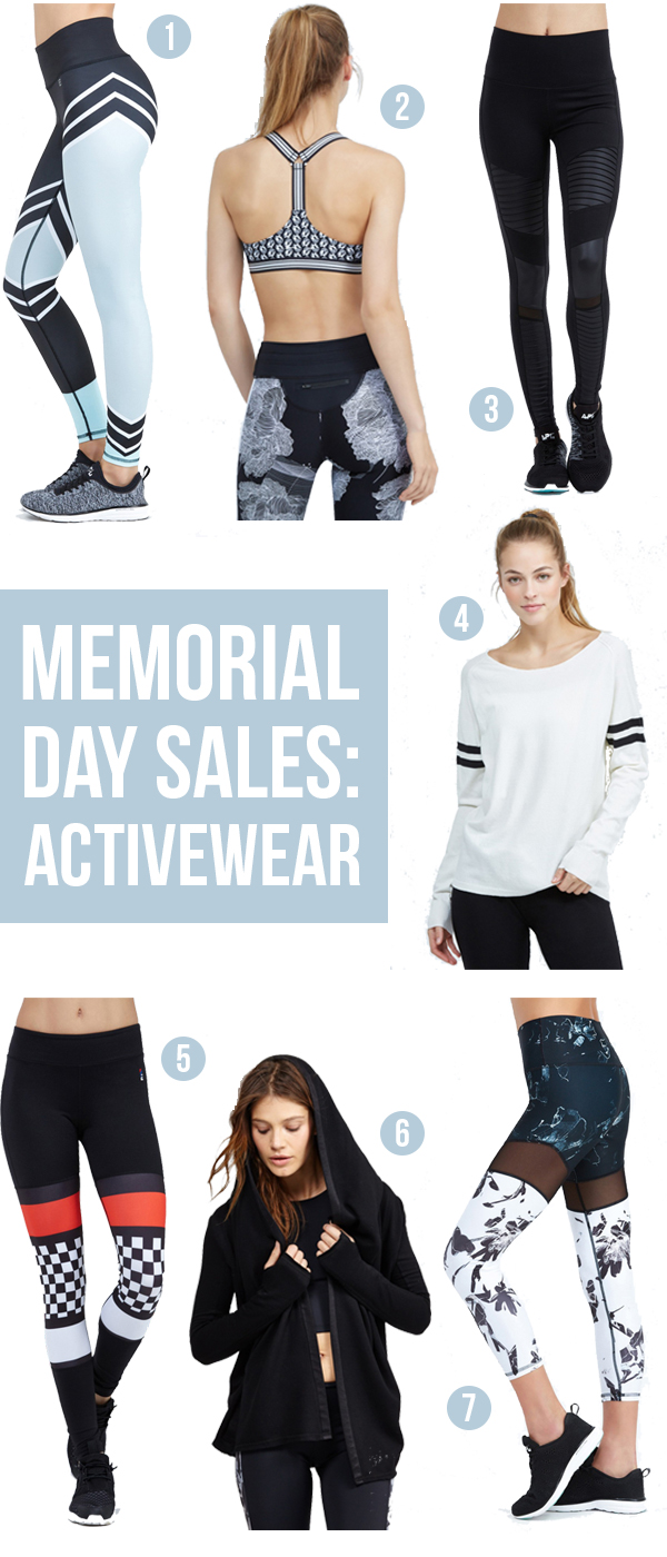 Save on activewear from Bandier and other brands with these Memorial Day Sales
