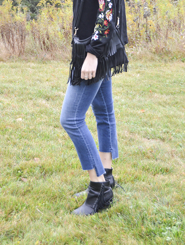 Skylar Back Seam High Rise Step Hem Skinny Jean by Level 99 from my October Stitch Fix review