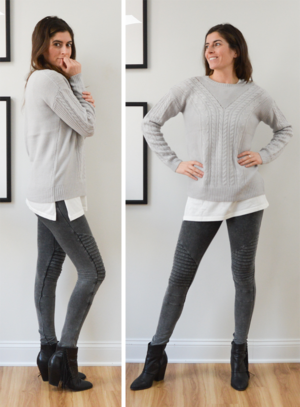 Stitch Fix Review: November - gray sweater