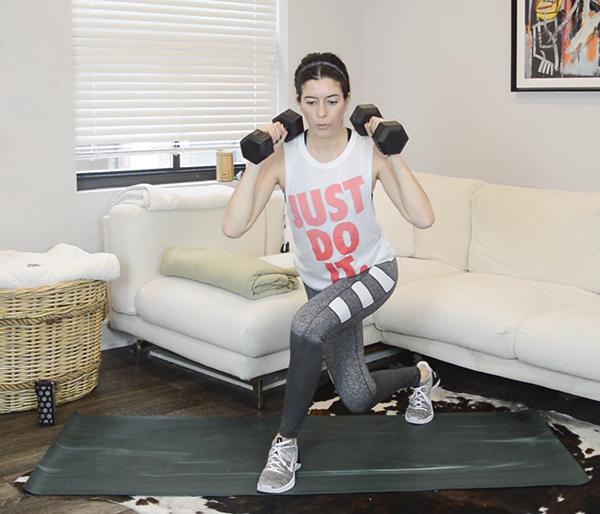 Legs & Butt Workout (Strength Circuits + Tabatas)