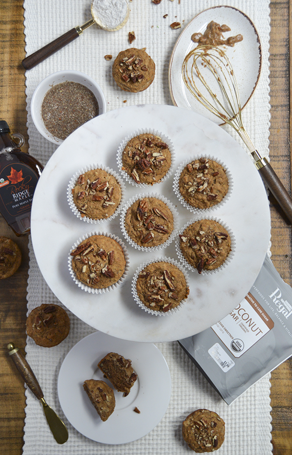 Banana Nut Muffins (vegan)